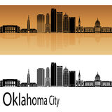 Oklahoma City V2 skyline Royalty Free Stock Photo