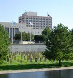 Oklahoma- Citybombardierung-Denkmal Stockbild