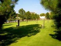 Oklahoma citybombningminnesmärke Arkivbild