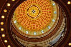 Oklahoma dome. This is a picture of the inside of the new oklahoma dome Stock Photos