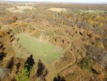 Oklahoma Field Stock Photo