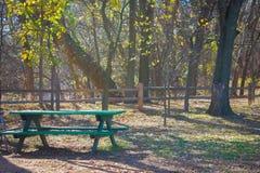 Oklahoma höst Fotografering för Bildbyråer