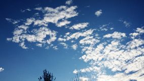 Oklahoma-Himmels Stockfoto