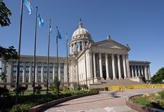 Oklahoma huvudstadbyggnad Royaltyfri Fotografi