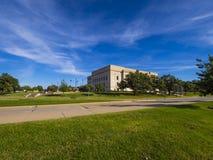 Oklahoma Judicial Center in Oklahoma City. USA 2017 Royalty Free Stock Photo