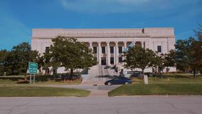 Oklahoma juridisk mitt i oklahoma city stock video