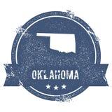 Oklahoma-Kennzeichen stock abbildung