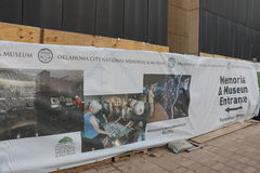 Oklahoma miasta Afred P Murrah pomnik Obrazy Royalty Free