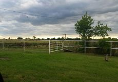 Oklahoma niebo Zdjęcia Stock