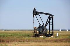 Oklahoma Oilfield Pumpjack Royalty Free Stock Photo