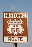 Oklahoma Route 66 Sign