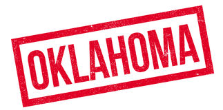 Oklahoma rubber stamp Stock Images