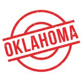 Oklahoma rubber stamp Stock Image
