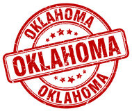 Oklahoma stamp Royalty Free Stock Photography