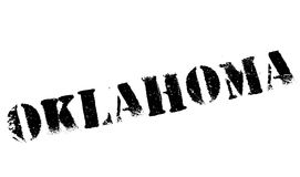 Oklahoma stamp rubber grunge Royalty Free Stock Photography