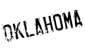 Oklahoma stamp rubber grunge Stock Photography