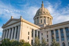 Oklahoma State Capital Building. Oklahoma Capitol Building in Oklahoma City, OK Royalty Free Stock Images