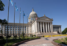 Oklahoma State Capital building. Royalty Free Stock Photography