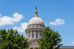 Oklahoma State Capital Dome Royalty Free Stock Image