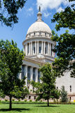 Oklahoma State Capital. A vertical of the Oklahoma State capital Stock Photos
