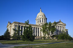 Oklahoma - State Capitol. State Capitol of Oklahoma in Oklahoma City Royalty Free Stock Images