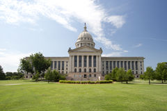 Oklahoma state capitol building Royalty Free Stock Photo
