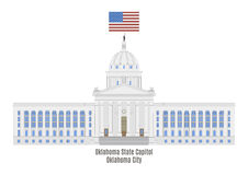 Oklahoma State Capitol Stock Photography