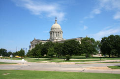 State capitol in Oklahoma Royalty Free Stock Images
