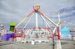 Oklahoma state fair ride Royalty Free Stock Photo