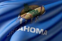 Oklahoma State flag Stock Image