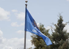 Oklahoma State Flag Royalty Free Stock Image