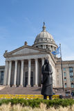 Oklahoma State House and Capitol Building Royalty Free Stock Photo