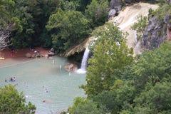 Oklahoma waterfalls Stock Photo