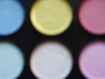 Oklar bakgrundsvattenfärg Royaltyfria Bilder