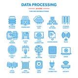 oklarhet som 2010 beräknar den microsoft smauen Landet och mappen upload mappar över internet Online-tjänst Data - bearbeta, info stock illustrationer