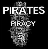 oklarheten piratkopierar ord Fotografering för Bildbyråer