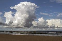 oklarheter över havet royaltyfria bilder
