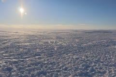oklarheter landscape vinter arkivbild