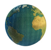oklarheter räknad jord Arkivbild
