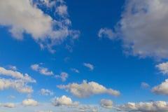 oklarheter räknade skyen Royaltyfri Fotografi