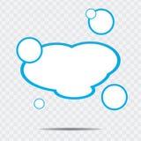 Oklarhetsanförandebubbla Royaltyfria Bilder