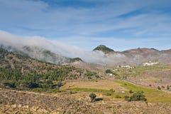 oklarhetsberg över Arkivbild