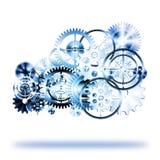 oklarhetskugghjul gjorde hjul Royaltyfria Foton