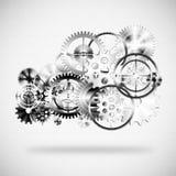 oklarhetskugghjul gjorde hjul Fotografering för Bildbyråer
