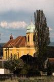 oknówka kościelny święty royalty ilustracja