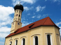 oknówki kościelny st waakirchen Zdjęcia Stock
