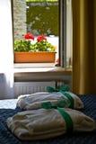 okna hotelu zdjęcie royalty free