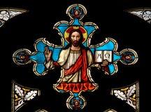 okna miłość Jezusa Fotografia Stock