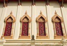 Okno świątynia Fotografia Royalty Free