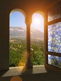 okno Obrazy Stock